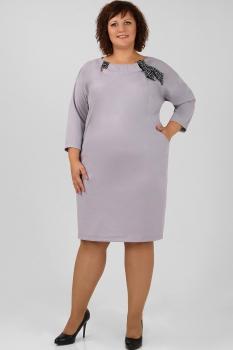 Платье Michel Chic 686 серый