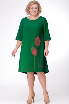 Платье Michel Chic 687-2 зелёный