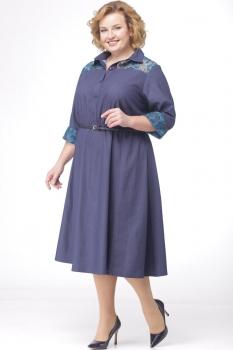 Платье Michel Chic 688 тёмно-синий