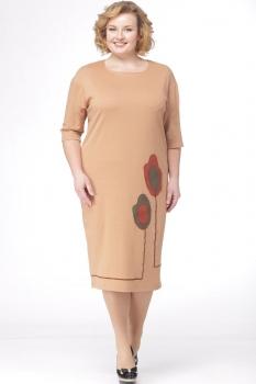 Платье Michel Chic 693-1 беж