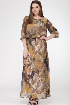 Платье Michel Chic 694 охра