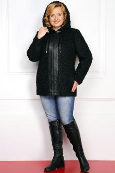 Пальто Милана 793 чёрный