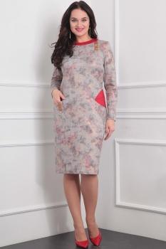 Платье Милана 888 коралловый