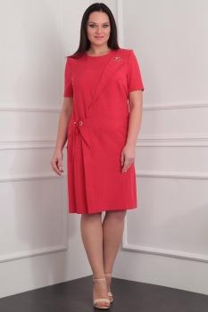 Платье Милана 912 красный