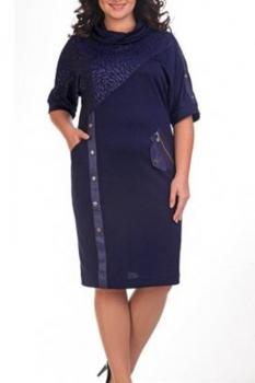 Платье Милана 918 синий