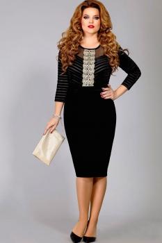 Платье Mira Fashion 4290 черный