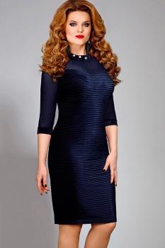 Платье Mira Fashion 4291-2 синий