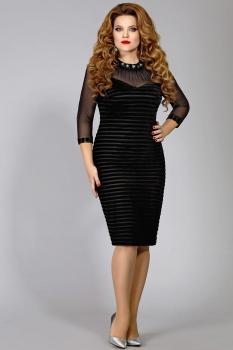 Платье Mira Fashion 4291 черный