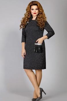 Платье Mira Fashion 4333 серый