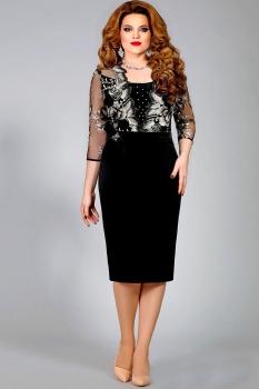 Платье Mira Fashion 4334 черный