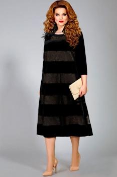 Платье Mira Fashion 4335 черный