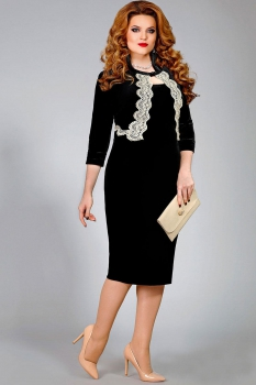 Платье Mira Fashion 4336 черный