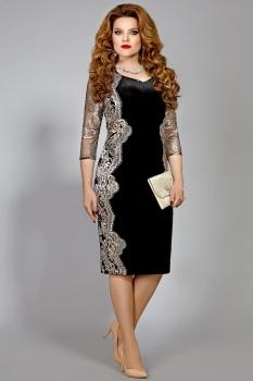 Платье Mira Fashion 4362 черный
