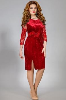 Платье Mira Fashion 4366 красный