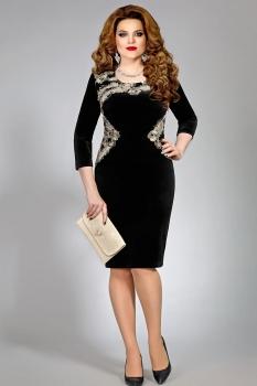 Платье Mira Fashion 4372 черный