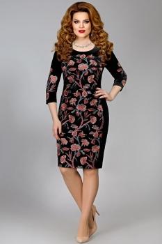 Платье Mira Fashion 4373 черный