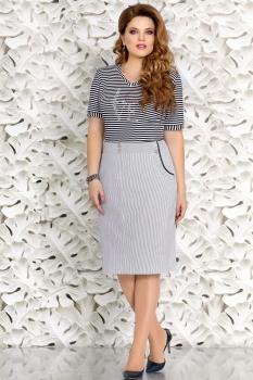 Платье Mira Fashion 4425 серый