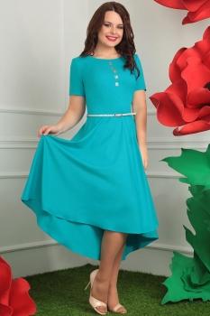 Платье Мода-Юрс 2253 бирюза