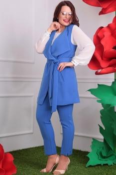 Костюм Мода-Юрс 2331-4 темно-голубой