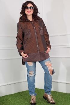Куртка Мода-Юрс 2381-1 коричневый