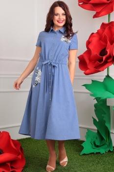 Платье Мода-Юрс 2405-1 джинс