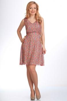 Платье Moda-Versal 1446 розовый