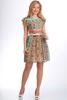 Платье Moda-Versal 1447 мозаика