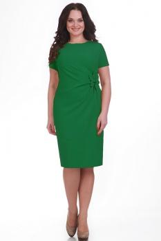 Платье Moda-Versal 1462-3 зелёный