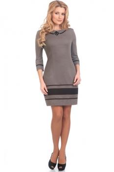 Платье Moda-Versal 1500 серый