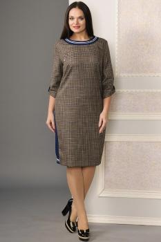 Платье Moda-Versal 1769 светло-коричневый
