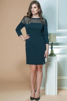 Платье Moda-Versal 1778 темно-бирюзовый