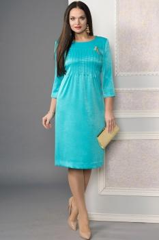 Платье Moda-Versal 1795 бирюза