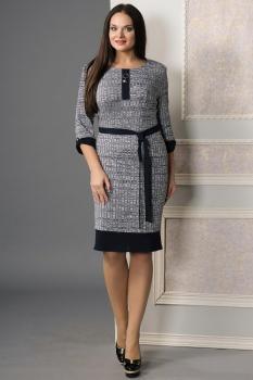 Платье Moda-Versal 1798 серые тона
