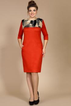 Платье Мублиз 178-1 красный