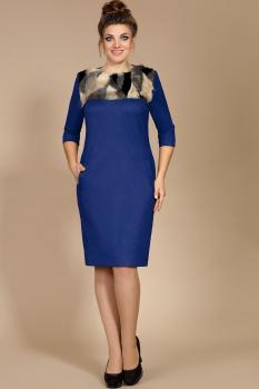 Платье Мублиз 178 синий