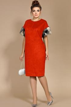 Платье Мублиз 179-1 красный