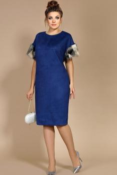 Платье Мублиз 179 синий