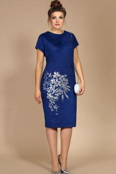 Платье Мублиз 189 синий