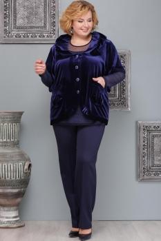 Костюм Надин-Н 1037-5 тёмно-синий