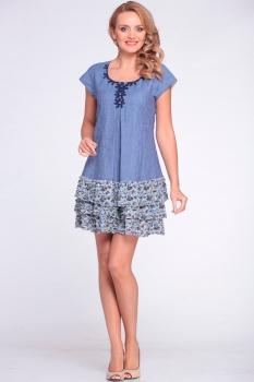 Платье Надин-Н 1205 джинс