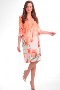 Платье Надин-Н 1290-2 персик