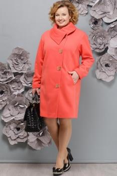 Пальто Надин-Н 1313-1 мандарин