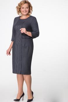 Платье Надин-Н 1412 тёмно-синий