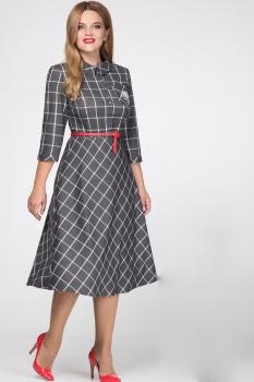 Платье Надин-Н 1419 серый