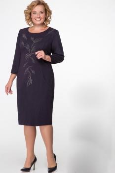 Платье Надин-Н 1427-1 тёмно-сиреневый