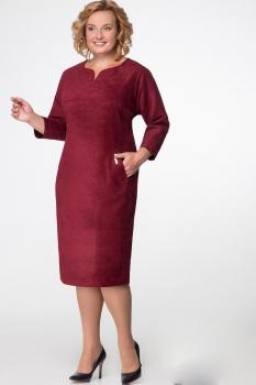 Платье Надин-Н 1433 бордо
