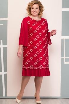 Платье Надин-Н 1464-1 красный