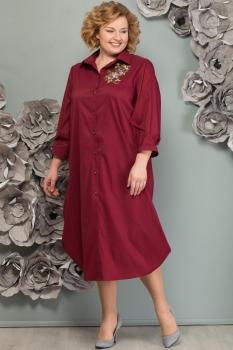 Платье Надин-Н 1493-1 бордо