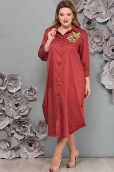 Платье Надин-Н 1493-2 теракот