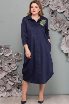 Платье Надин-Н 1493-3 тёмно-синий
